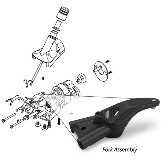 Oster® ShowMaster® and ShearMaster® Fork & Pin Assembly