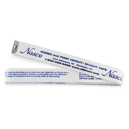 Horse and Pony Weighing Tape