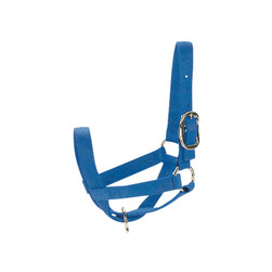 Supreme Web Turnout Cow/Steer Halter - Blue
