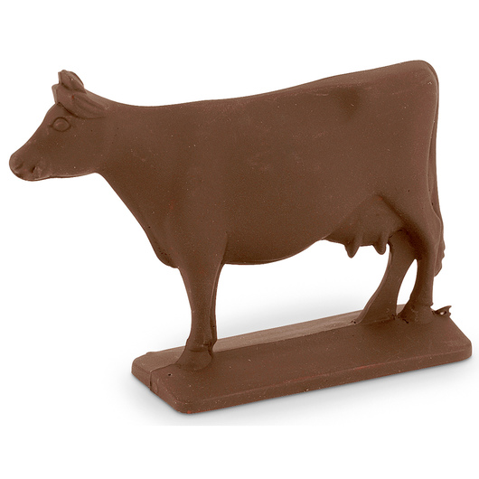 Cow Figurine - Brown Swiss