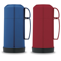 Wide-Mouth Thermos Blue