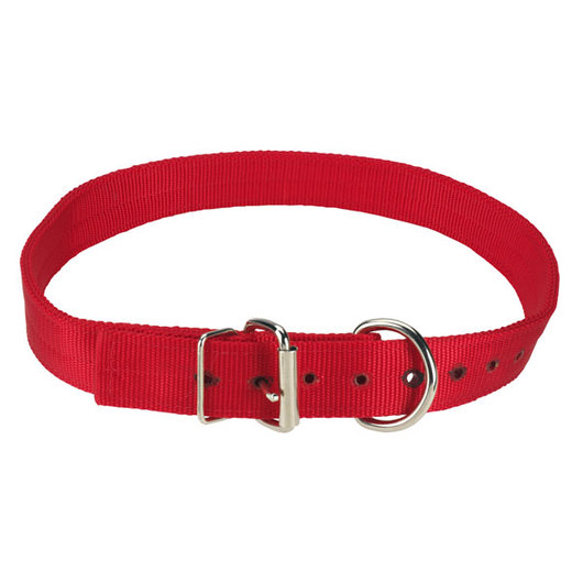 Nylon Yearling Collar - Red