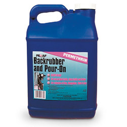 Backrubber & Pour-On Solution