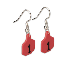 Cattle Tag Earrings