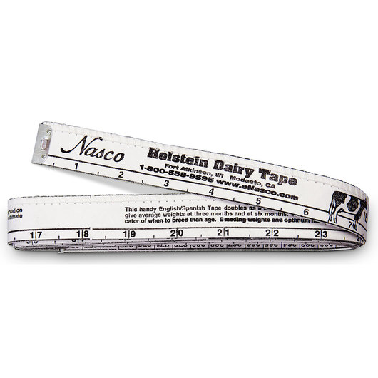 Nasco Holstein Weigh Tape