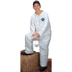 Tyvek® Disposable Coveralls - Medium