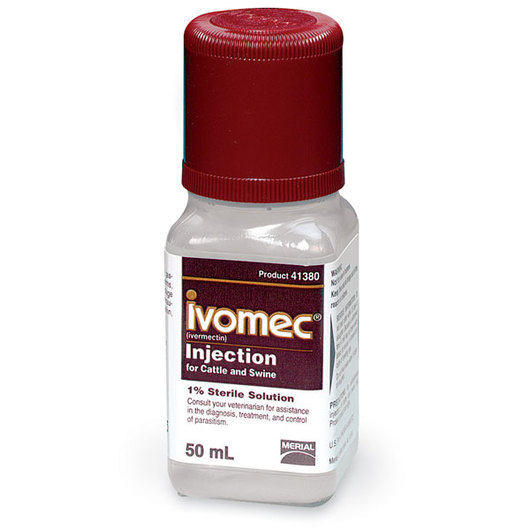 Ivomec® 1% for Swine and Cattle - 50 ml