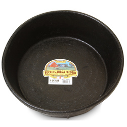DuraFlex Molded Rubber Hog Pan