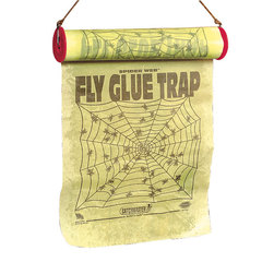 Spider Web Fly Glue Trap