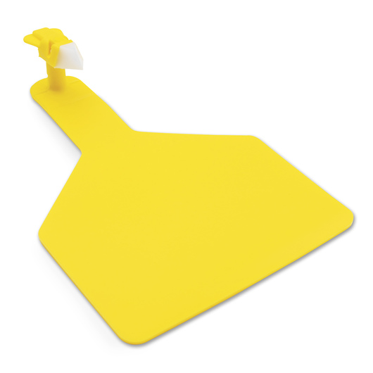 Z1 No-Snag-Tags® One-Piece Ear Tags - Cow Size - Blank - Yellow - Pack of 25
