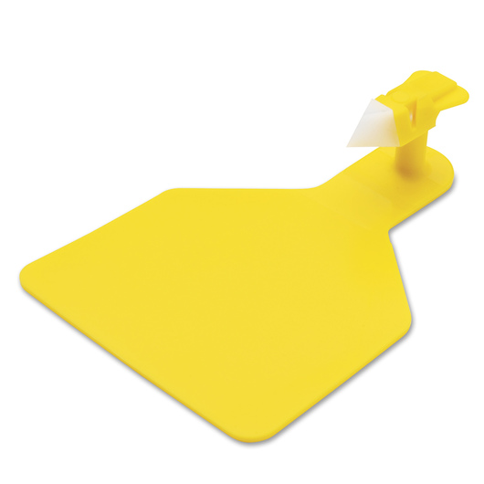 Z1 No-Snag-Tags® One-Piece Ear Tags, One Calf Size Blank Tags - Yellow, Pack of 25