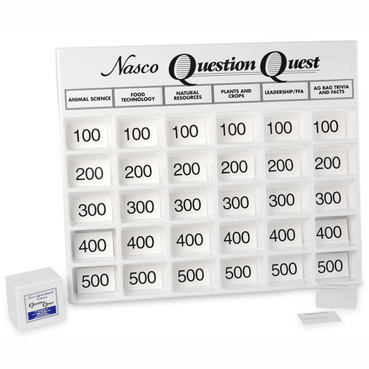 Nasco Agricultural Science Question Quest Set
