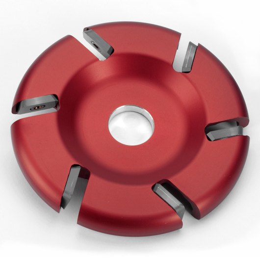 6-Slot/Slotted Out Carbide Flat Disc