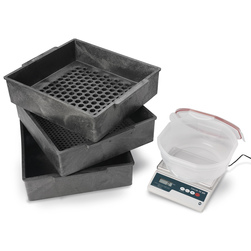 Nasco's Deluxe Two Sieve Forage Particle Separator Kit