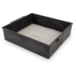 Forage Particle Box with 1/20 1.18mm Stainless Steel Screen and Instructions