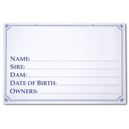 Standard Information Pedigree Sign