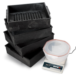 Nasco's Deluxe Three-Sieve Forage Particle Separator Kit