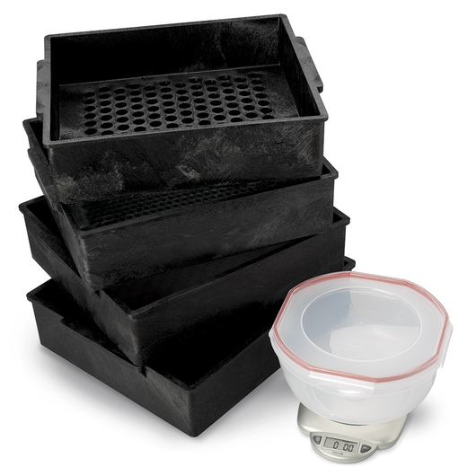 Nasco Economy Three-Sieve Forage Particle Separator Kit