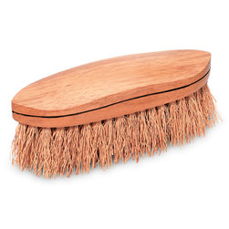 Natural Fiber Wet Grooming Brush - Rice Root