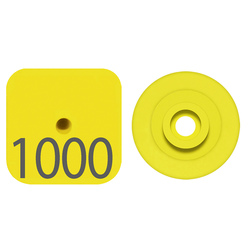 Destron Fearing™ Litter Max Numbered Hog Tags - Yellow, Numbers 201-999