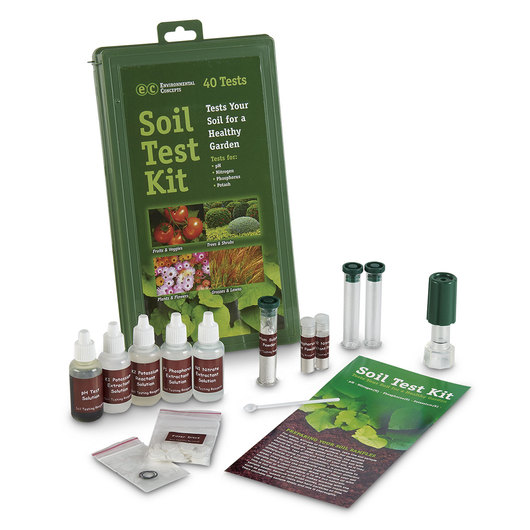 Soil Test Kit with 40 Tests