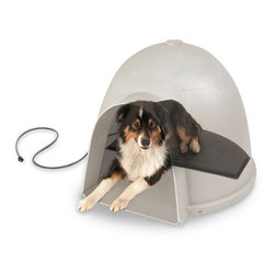 K&H Igloo-Style Heated Pad