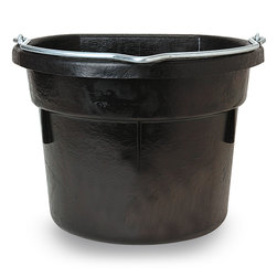 DuraFlex Advanced Flatback Rubber Bucket