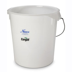 Nasco Digestion Analyzer Component, 22 qt. Plastic Bucket