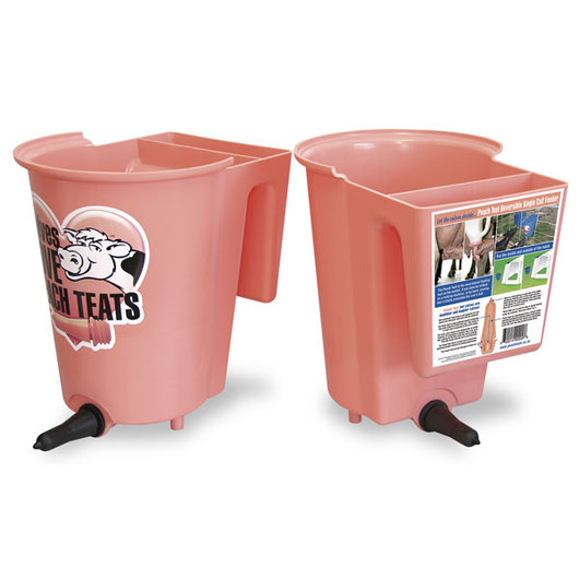 Single Peach Teat™ Bucket Feeder with Front and Back Option