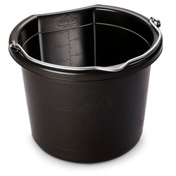 24-qt. Flat-Back Bucket