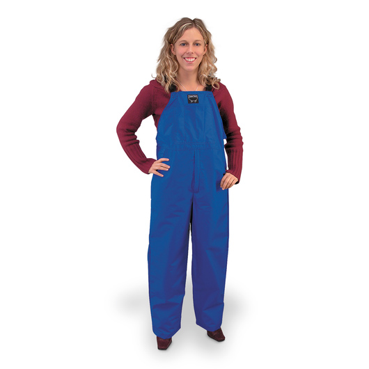 Waterproof Bibbed Overalls, Blue - Youth-Size 14-16