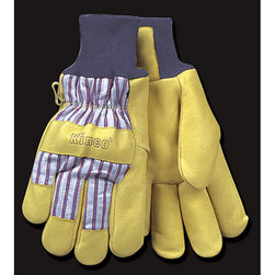 Heatkeep Cold Weather Work Gloves with Knit Wristband