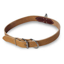 Harness Leather Center Ring Cow Neck Strap