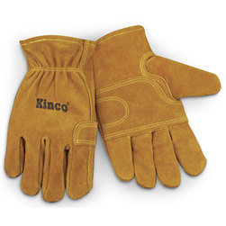 Kinco Unlined Suede Cowhide Fencing Gloves