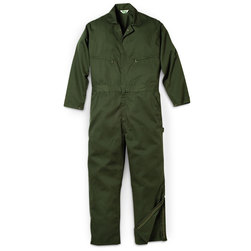 Key Industries Mens Loden Green Unlined Twill Coveralls