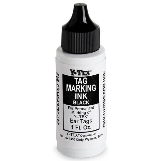 Y-TEX® Tag Marking Ink - Black