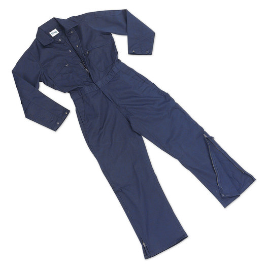 Key Industries' Men's Unlined Twill Coveralls - Navy - Large (42/44)