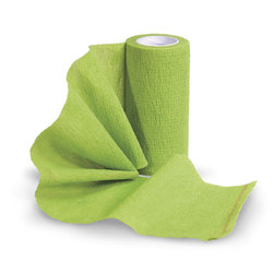 Sureflexx™ Self-Adhesive Bandages - Individual, 4 in. x 5yds. Roll, Lime Green