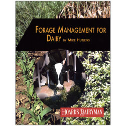 Forage Management for Dairy
