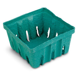 Pulp Paper Berry Baskets - Pack of 50