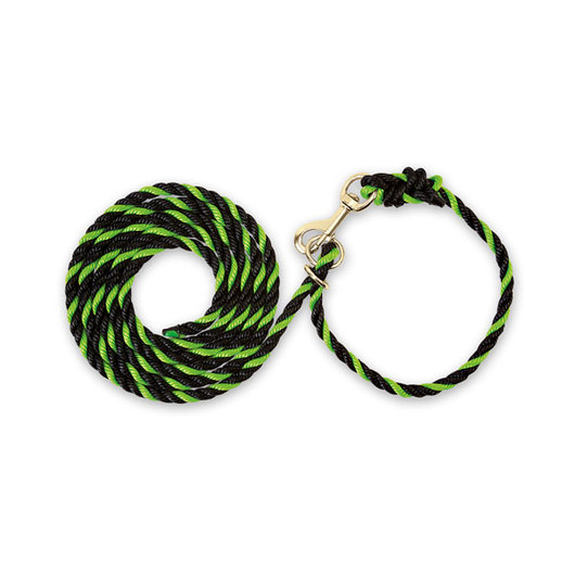 Weaver® Adjustable Poly Neck Rope - Lime Zest/Black