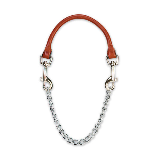 Weaver® Leather and Chain Goat Collar - 28 L.