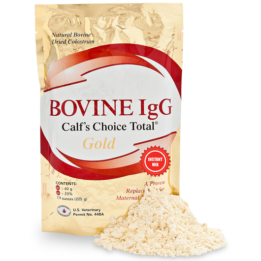 Calf's Choice Total® Gold All Natural Dried Bovine Colostrum Replacer