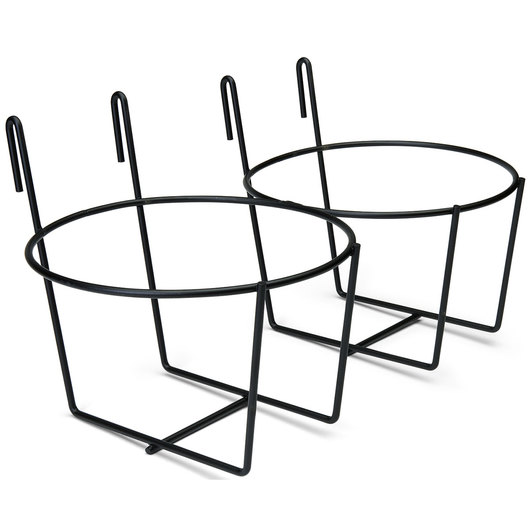 Double Wire Fence Pail Holder