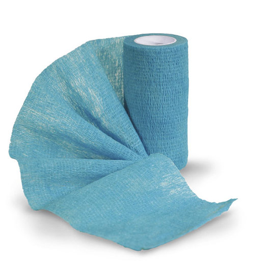 Sureflexx™ Self-Adhesive Bandages - Teal, Box of 18 Rolls