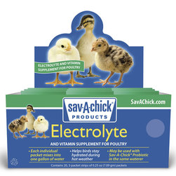 Sav-A-Chick Poultry Electrolyte & Vitamin Supplement
