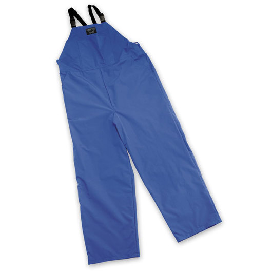 Waterproof Bibbed Overalls, Large Size - Blue