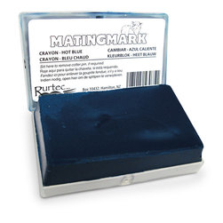 MATINGMARK Mating Crayon by Rurtec - Blue, Hot Climate