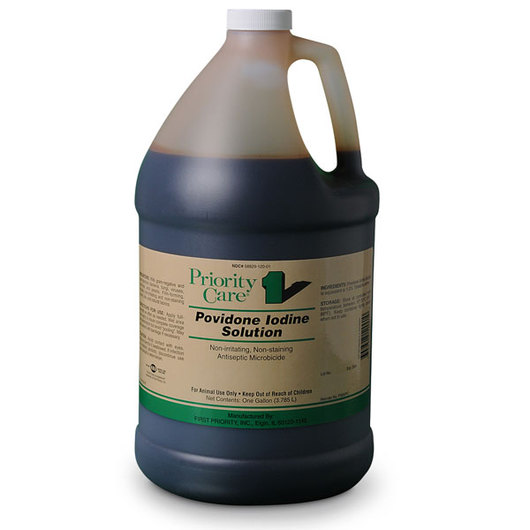 Povidone Iodine Solution - One Gallon Jug