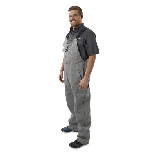 ReFitter's Stripe Overall with Zipper - 30 L - Chest Size 46